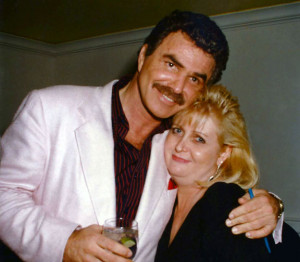Burt Reynolds and Karen Poindexter